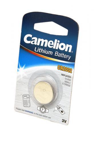 Camelion CR2032-BP1 CR2032 BL1, элемент питания, батарейка