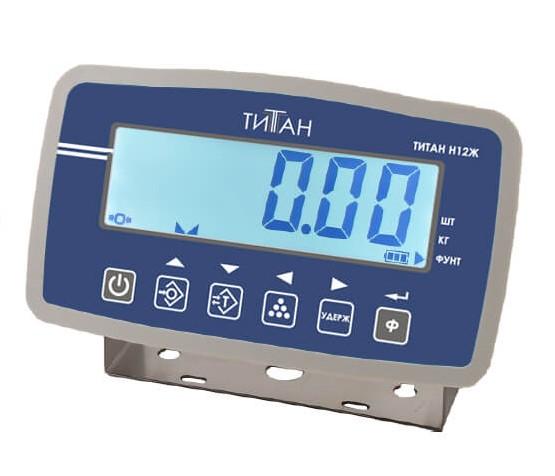 ZEMIC,Весовой индикатор ТИТАН Н12Ж (LCD)