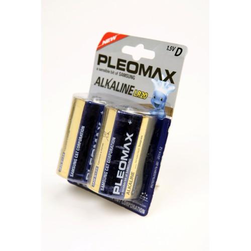 Элемент питания PLEOMAX samsung LR20 BL2