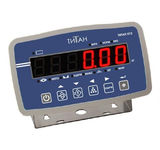 ZEMIC,Весовой индикатор ТИТАН Н12 (LED)