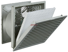 Вентилятор с фильтром PF 67.000 230В IP54 RAL7035