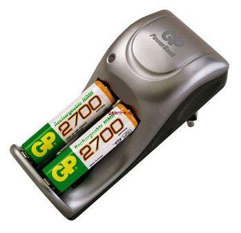 Зарядное устройство GP PB25GS-C2 + 2 акк. GP 2700mA