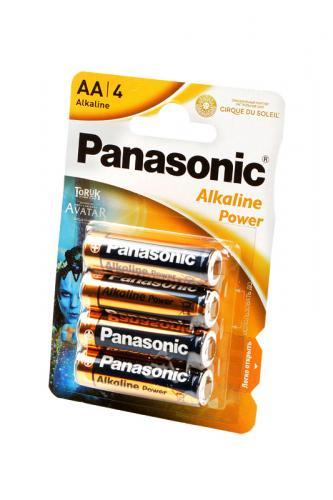 Panasonic Alkaline Power LR6 Cirque Du Soleil TORUK BL4