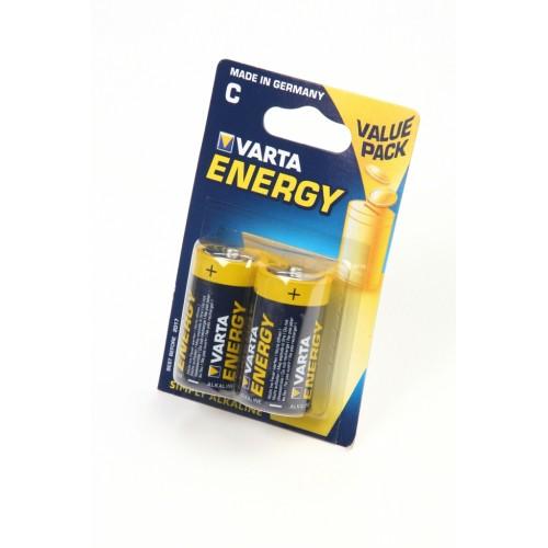 VARTA ENERGY 4114 LR14 BL2, элемент питания, батарейка