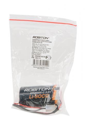 ROBITON ER26500-55572P C LSC9000-C-3.6V с коннектором PK1