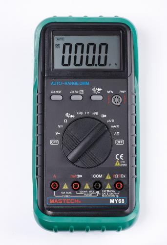Mastech цифровой автоматический мультиметр MY68
