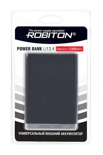 ROBITON POWER BANK Li13.4-K 13400мАч черный BL1