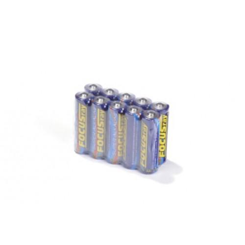 Элемент питания FOCUSray Super Alkaline 625891 LR6 SR10, в коробке 100 штук