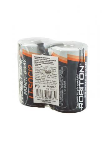 ROBITON ER34615-FT D с лепестковыми выводами SR2 LSC19000-D-3.6V, в упак 8 шт