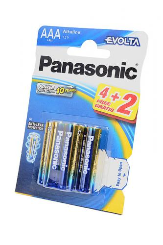 Panasonic EVOLTA LR03EGE/6BP 4+2F LR03  4+2шт BL6