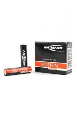 ANSMANN Industrial Alkaline 1501-0009 LR03, в упак 10 шт