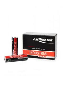 ANSMANN Industrial Alkaline 1502-0006 LR6 в коробке 10 шт