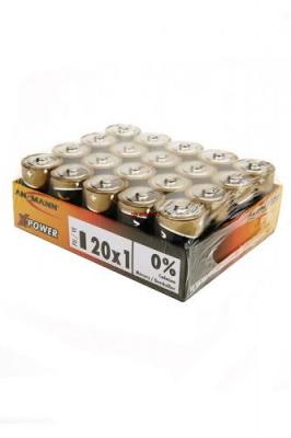 ANSMANN X-POWER 5015701 LR20 bulk, в упак 20 шт