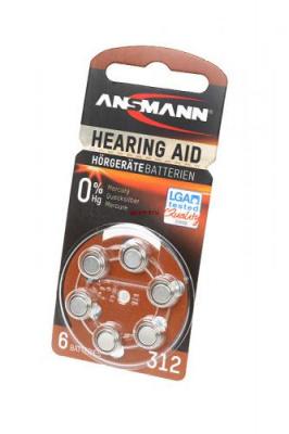 ANSMANN Zinc-Air 5013233 312 UK BL6