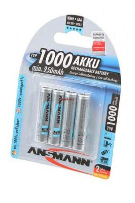 ANSMANN 5030882-RU maxE 1000мАч AAA BL4