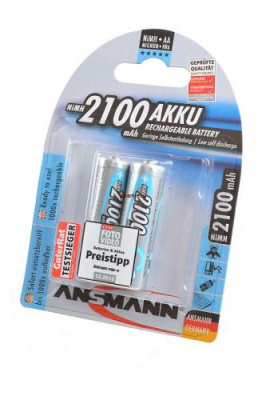 ANSMANN 5030992-RU maxE 2100мАч AA BL2