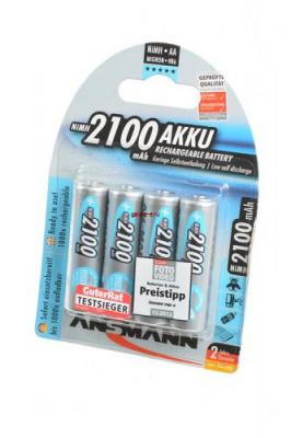 ANSMANN 5035052-RU maxE 2100мАч AA BL4