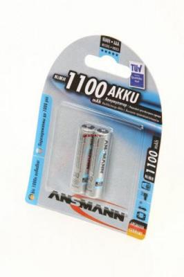 ANSMANN 5035222-RU 1100мАч AAA BL2