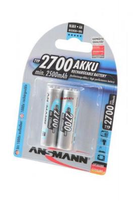 ANSMANN 5030852-RU 2700мАч AA BL2
