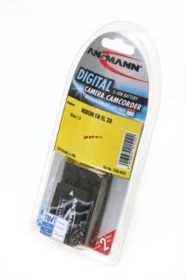 ANSMANN 1400-0025 A-Nik EN EL 20 BL1