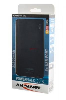 ANSMANN 1700-0068 Powerbank 20800мАч в комплекте с шнуром USB-microUSB BL1