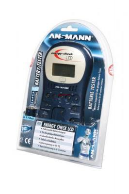 ANSMANN 4000392 Energy Check LCD BL1