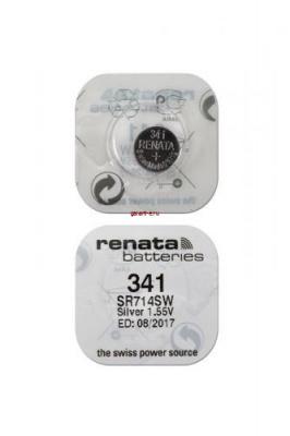 RENATA SR714SW   341 (0%Hg), в упак 10 шт