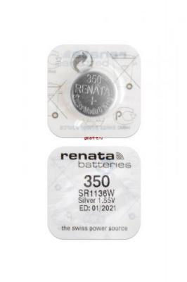 RENATA SR1136W   350 (0%Hg), в упак 10 шт