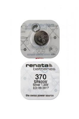 RENATA SR920W    370 (0%Hg), в упак 10 шт