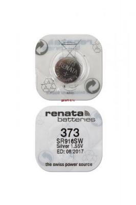 RENATA SR916SW  373 (0%Hg), в упак 10 шт