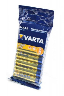 VARTA LONGLIFE 4103 LR03 SR8, элемент питания, батарейка