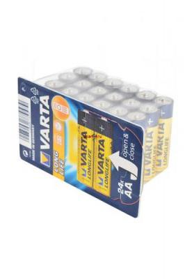 VARTA LONGLIFE 4106 LR6 в уп. 24 шт, элемент питания, батарейка
