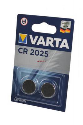 VARTA CR2025  6025 BL2, элемент питания, батарейка
