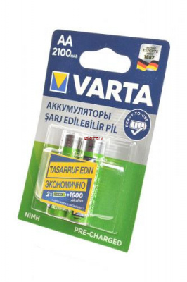 VARTA 56706 Ready 2 Use  AA 2100мАч BL2, аккумулятор