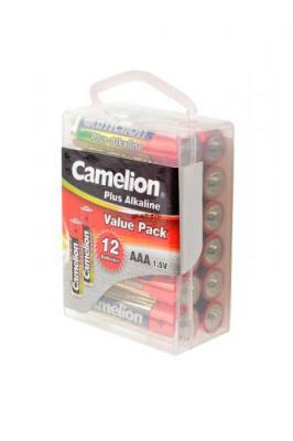 Camelion Plus Alkaline LR03-PBH12 LR03 в пласт. боксе 12 шт, элемент питания, батарейка