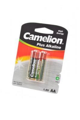Camelion Plus Alkaline LR6-BP2 LR6 BL2, элемент питания, батарейка