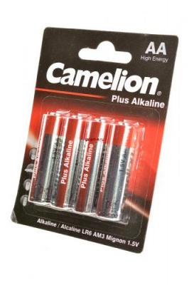 Camelion Plus Alkaline LR6-BP4 LR6 BL4, элемент питания, батарейка