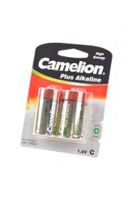 Camelion Plus Alkaline LR14-BP2 LR14 BL2, элемент питания, батарейка