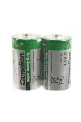 Camelion Super Heavy Duty R20P-SP2G R20 SR2, в упак 12 шт, элемент питания, батарейка