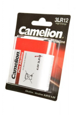 Camelion Plus Alkaline 3LR12-BP1 3LR12 BL1, элемент питания, батарейка