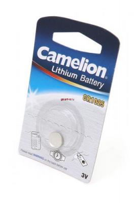 Camelion CR1025-BP1 CR1025 BL1, элемент питания, батарейка