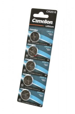 Camelion CR2016-BP5 CR2016 BL5, элемент питания, батарейка
