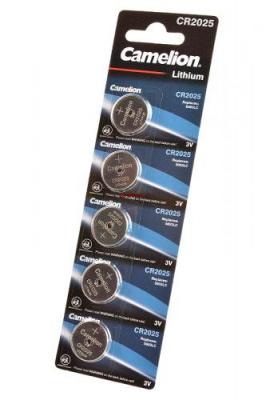 Camelion CR2025-BP5 CR2025 BL5, элемент питания, батарейка