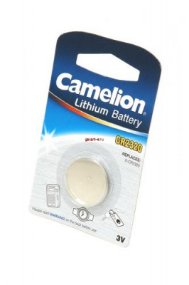 Camelion CR2320-BP1 CR2320 BL1, элемент питания, батарейка