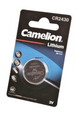 Camelion CR2430-BP1 CR2430 BL1, элемент питания, батарейка