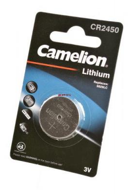 Camelion CR2450-BP1 CR2450 BL1, элемент питания, батарейка