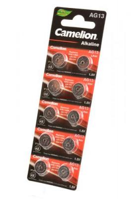 Camelion AG13-BP10(0%Hg) AG13 357 BL10, элемент питания, батарейка