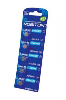 ROBITON STANDARD R-AG2-0-BL5 (0% Hg) AG2 LR726 396 LR59 BL5