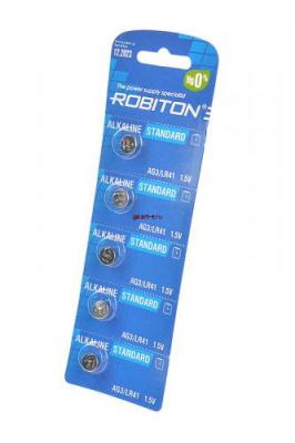 ROBITON STANDARD R-AG3-0-BL5 (0% Hg) AG3 LR41 392 192 BL5