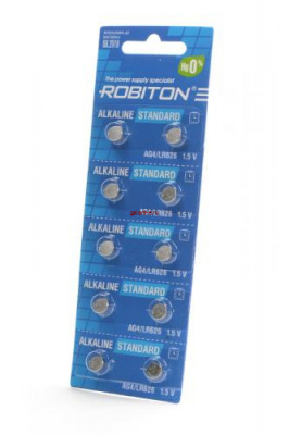 ROBITON STANDARD R-AG4-0-BL10 (0% Hg) AG4 LR626 377 LR66 BL10